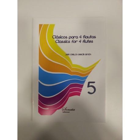GARCIA: Clasicos para 4 flautas, 5