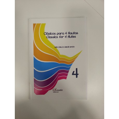 GARCIA: CLASICOS PARA 4 FLAUTAS, 4