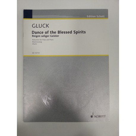 DANCE OF BLESSED SPIRITS  OF GLUCK