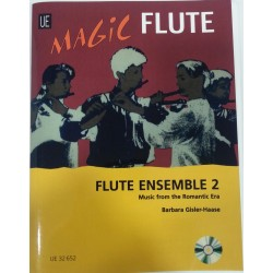 ENSEMBLE FLAUTAS + CD VOL2
