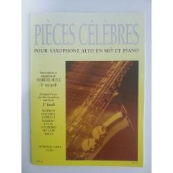 PIECES CELEBRES -- MARCEL MULE - SAXO ALTO Y PIANO