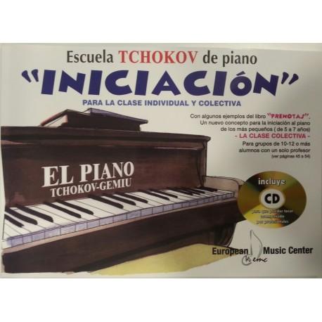 PIANO INICIACION TCHOKOV-GEMIU