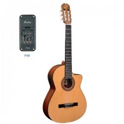 "Guitarra ""ADMIRA"" Juanita Electrificada con Cutaway"
