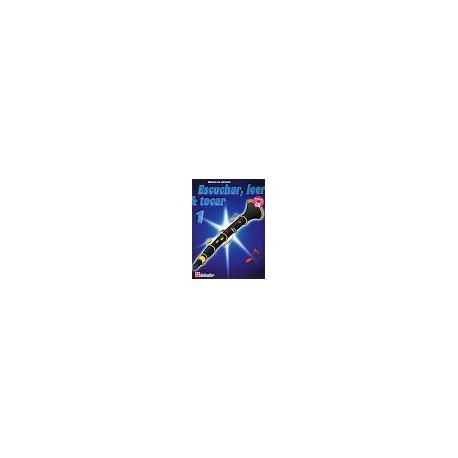 ESCUCHAR, LEER Y TOCAR 1 (CLARINETE)+CD