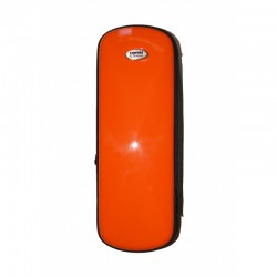 Estuche Clarinete TM Fiber Line Mini Naranja Brillo.