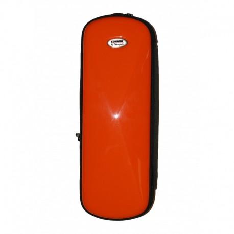 Estuche Clarinete TM Fiber Line Mini Rojo Brillo