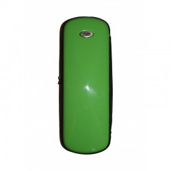 Estuche Clarinete TM Fiber Line Mini Verde Brillo