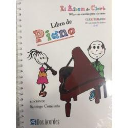 El álbum de clari: 101 piezas sencillas para clarinete.libro de piano