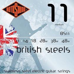 Juego de cuerdas para guitarra eléctrica Rotosound BS11