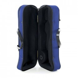 ESTUCHE TROMPETA TM CONFORT CON FORMA AZUL