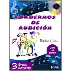 Cuadernos de Audición, 3 Grado Elemental