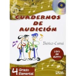 Cuadernos de Audición, 4 Grado Elemental