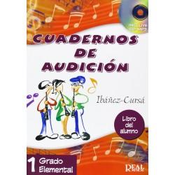 Cuadernos de Audición, 1 Grado Elemental