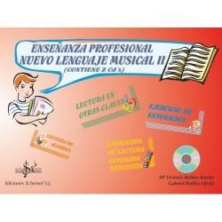 Enseñanza profesional : nuevo lenguaje musical II