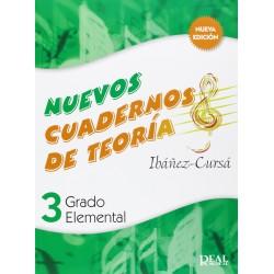 Cuadernos de Teoría, Grado Elemental Volumen 3