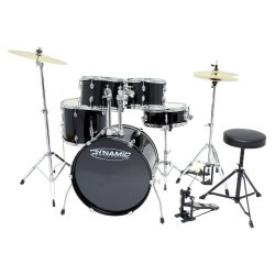 Bateria Dynamic One Set 2 Cromado Gewa