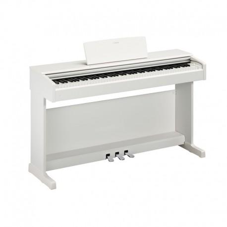 PIANO DIGITAL YAMAHA YDP144WH  BLANCO