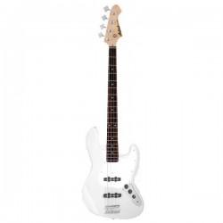 """Bajo """"ARIA"""" STB-JB Jazz Bass Blanco"""