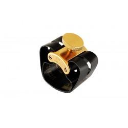 Abrazadera y Boquillero Clarinete Sib GF System Maxima Dorado MX-04M Tornillo Dorado