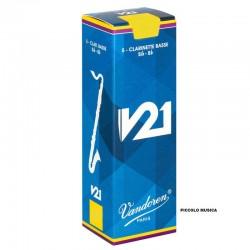 Caña Clarinete Bajo Vandoren V21 3 1/2